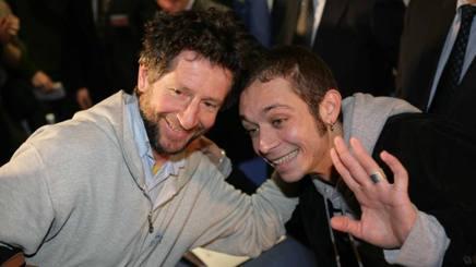 Graziano e Valentino Rossi (foto Ansa)