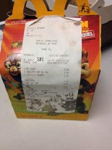 Guarda la versione ingrandita di McDonald's Happy Meal, comprato sei anni fa