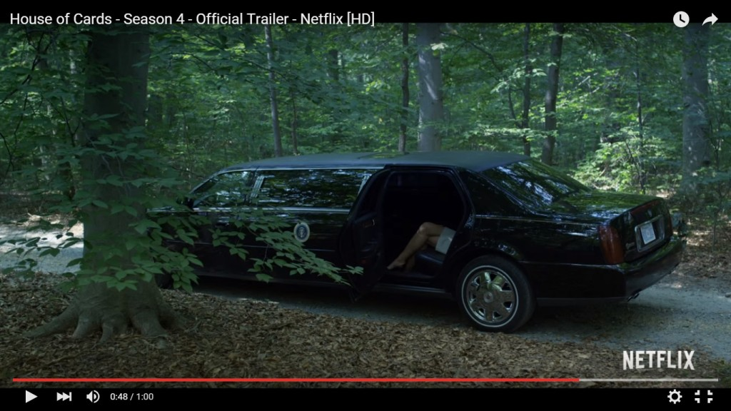 YOUTUBE House of Cards 4 stagione: TRAILER, trama e FOTO
