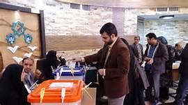 Elettori a Teheran