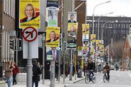 Propaganda elettorale a Dublino