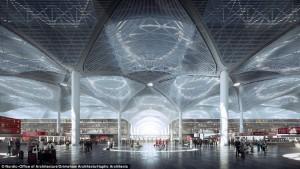 Nuovo aeroporto di Istanbul: ecco i rendering di come sarà