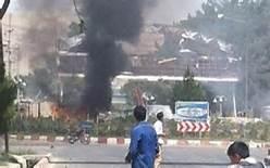 L' esplpsione a Kabul