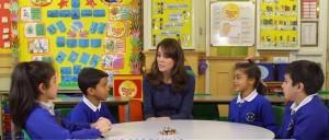 "Kate Middleton: ""Aiutamo bimbi con malattie mentali"""