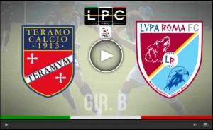 Lupa Roma-Teramo Sportube: streaming diretta live su Blitz