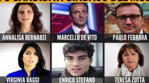 M5S sindaco Roma: i 10 candidati, anzi 6