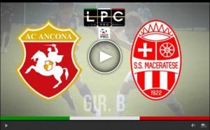 Guarda la versione ingrandita di Maceratese-Ancona Sportube: streaming diretta live