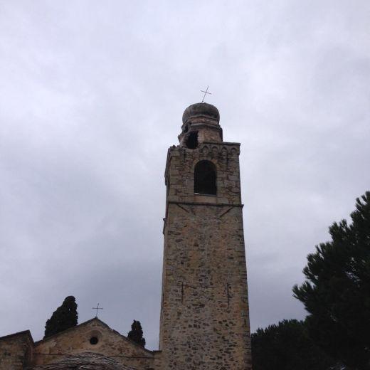 Maltempo Costarainera, fulmine abbatte campanile. Ora neve..5