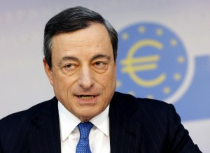 Mario Draghi: Su titoli banche psicosi da bail-in