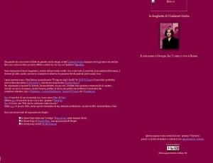 Giorgia Meloni e la prima pagina web 1998: quante sorprese