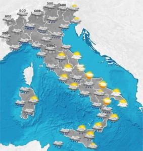 Allerta maltempo da San Valentino: Liguria, Toscana e...