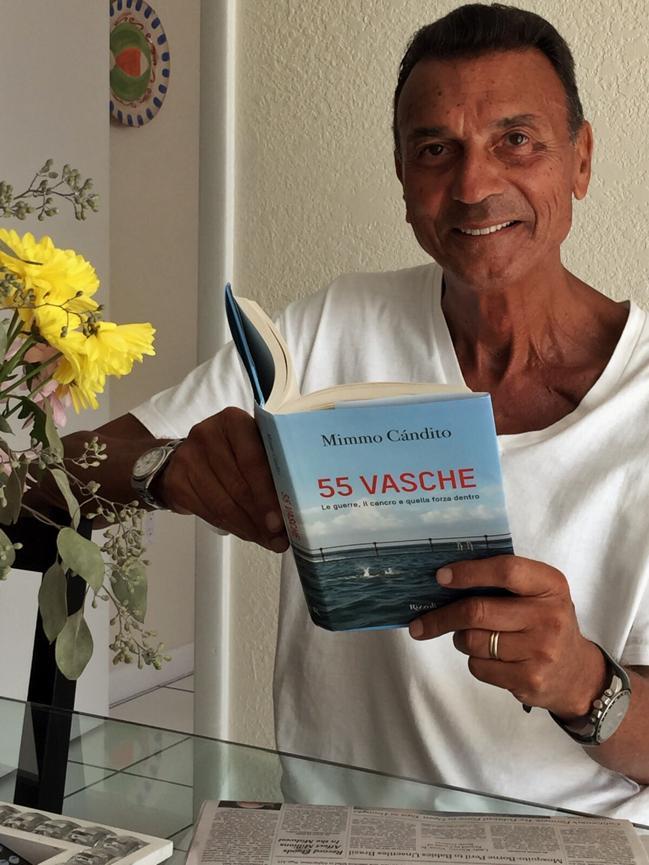"""Cancro, Mimmo Candito l'ha vinto con """"55 vasche"""""""