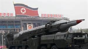 Missile nordcoreano a lungo raggio