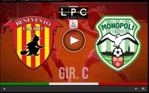 Monopoli-Benevento Sportube: streaming diretta live