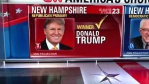 New Hampshire: cade Trump, tonfo Clinton, risorge Jeb Bush