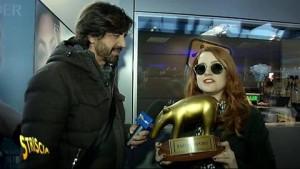 """Noemi, Tapiro d'oro: """"Canzone Sanremo copiata da Faletti?"""""""