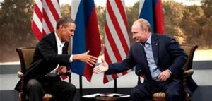 Guarda la versione ingrandita di Obama e Putin