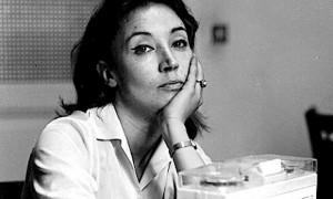 Guarda la versione ingrandita di Oriana Fallaci (foto Ansa)