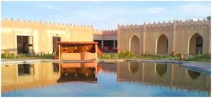 Guarda la versione ingrandita di Mali, attacco con razzi e armi a base Onu e hotel: ostaggi (l'hotel Palmeraie di Timbuctu)