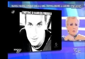 Maurizia Paradiso, appello alla D'Urso: Trova mia madre o...