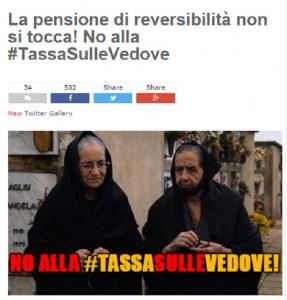 Pensioni reversibilità, Grillo: Tassa su vedove. Ma Padoan..