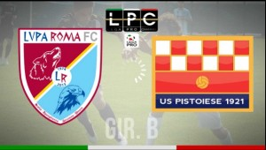 Pistoiese-Lupa Roma Sportube: streaming diretta live
