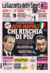 Juventus - Napoli, chi rischia di più? Sarri sta meglio...