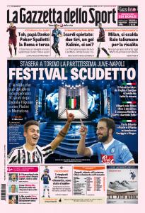 """Sanremo? Juventus - Napoli è """"festival per scudetto"""""""