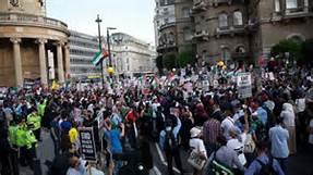 Manifestazioni contro la Ue a Londra