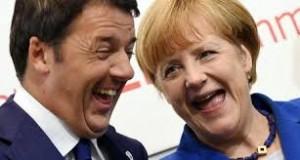 Merkel ha bisogno di Renzi ma non molla i soldi. Alla fine..