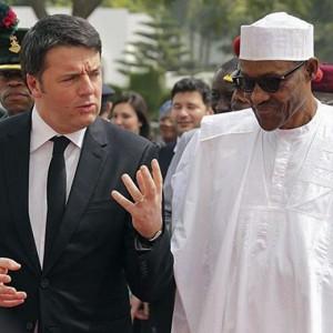 Guarda la versione ingrandita di Eni in Nigeria. Renzi e Buhari: