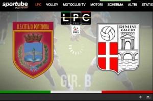 Rimini-Pontedera Sportube: streaming diretta live