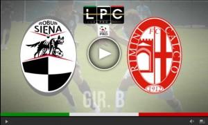 Rimini-Siena Sportube: streaming diretta live