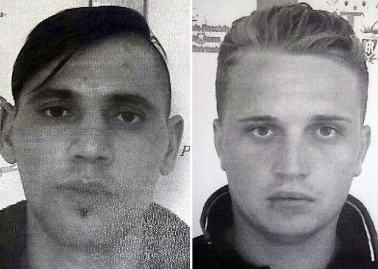 Rebibbia, due romeni evasi segando le sbarre FOTO