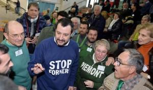 """Matteo Salvini: """"La magistratura italiana è una schifezza"""""""