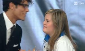 """Guarda la versione ingrandita di Sanremo, Nicole Orlando a Gabriel Garko: """"A mamma non piaci"""""""