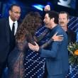 """Sanremo, Madalina Ghenea e il """"pigiama"""" nude look7"""