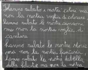 Santa Lucia (MS), dai bambini lezione commovente ai ladri