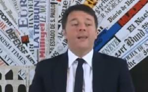 """YOUTUBE Renzi: """"22 dicembre inaugura SA-RC"""" E stampa ride..."""
