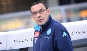 Guarda la versione ingrandita di Maurizio Sarri, l'allenatore del Napoli (Ansa)