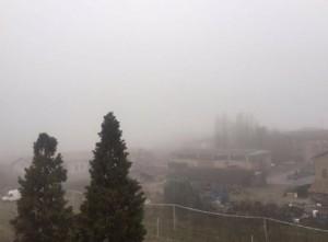 Sassuolo-Roma a rischio rinvio: nebbia a Reggio Emilia FOTO