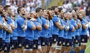 Guarda la versione ingrandita di fasi di gioco di Italia-Inghilterra (foto Ansa)
