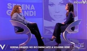 """Guarda la versione ingrandita di Serena Grandi a Verissimo: """"Ho perso 10 kg perché…"""""""