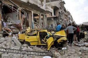 """Guarda la versione ingrandita di Siria, attentati Isis ad Homs e Damasco. Site: """"180 morti"""""""