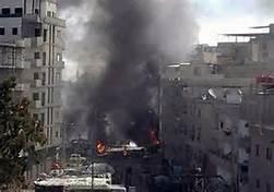 Guarda la versione ingrandita di Bombardamenti in Siria