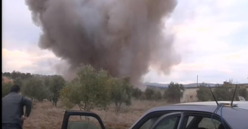 YOUTUBE Missile sfiora reporter in Siria: un sibilo e poi...7