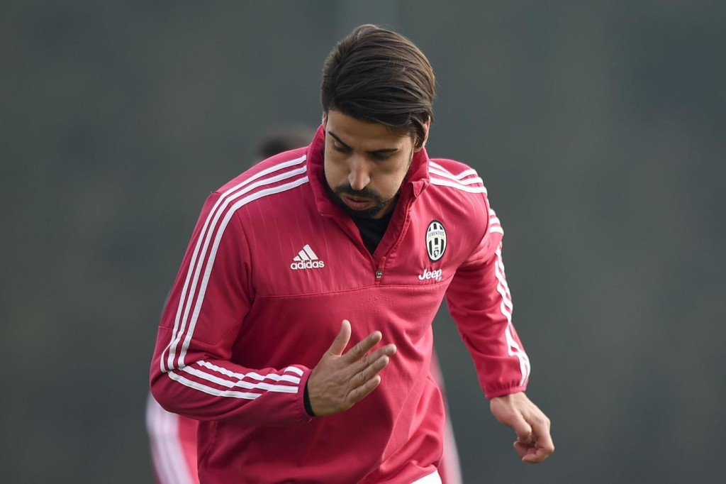 Juventus, Khedira nella foto LaPresse