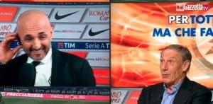 Guarda la versione ingrandita di Spalletti-Zeman, pace fatta alla Domenica Sportiva VIDEO