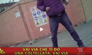 Striscia la Notizia, Valerio Staffelli minacciato con coltello