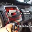 YOUTUBE Tassisti Roma: telecomando per alterare tassametro